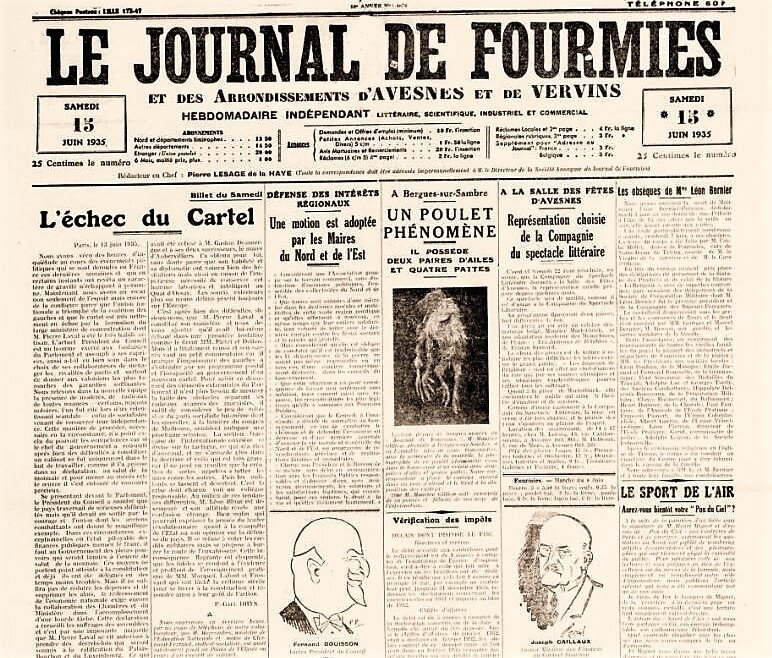 Journal de Fourmies