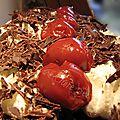 Le forêt noire, ce gâteau mondialement connu, est né il y a 99 ans, durant la première guerre mondiale