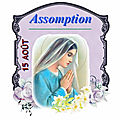 Let's celebrate ! assomption 2018