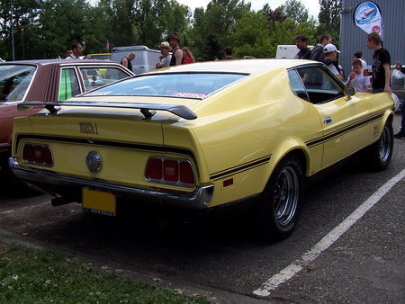 FORD Mustang Mach 1 Fastback Coupe 1971 Fun Car Show Illzach 2009 2