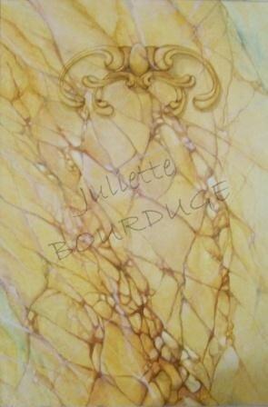 LES DECORATIFS - Effet marbre
