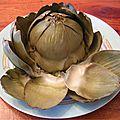 Coccinelle et son allié anti-kilo : l'artichaut