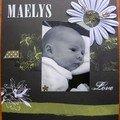 MAELYS (mes 1ères pages mars-juin 2006)