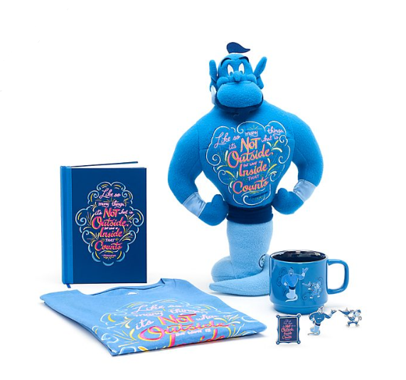 octobre 2019 - disney wisdom - genie - collection