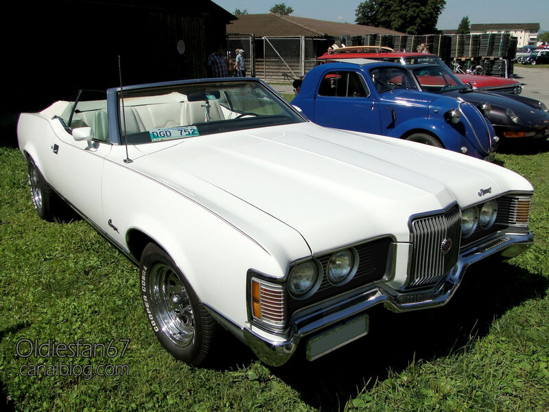 Mercury Cougar XR-7 convertible 1971-1972-01