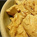 ..emincé de poulet au citron et au gingembre..
