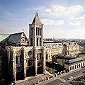 « la basilique de saint-denis est un livre d'histoire »