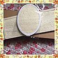 Mon test du jour : kit loofah sangle lave dos et gant exfoliants