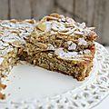 Gâteau moelleux à la ricotta, amandes et citron - sans gluten