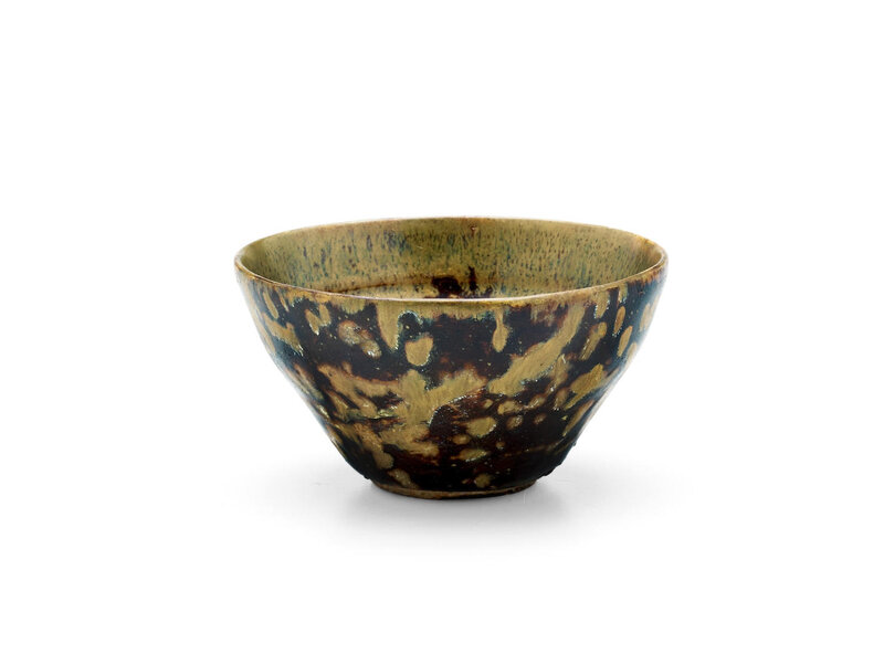 A Jizhou 'papercut' and 'tortoiseshell-glazed' bowl, Southern Song dynasty (1127-1279)