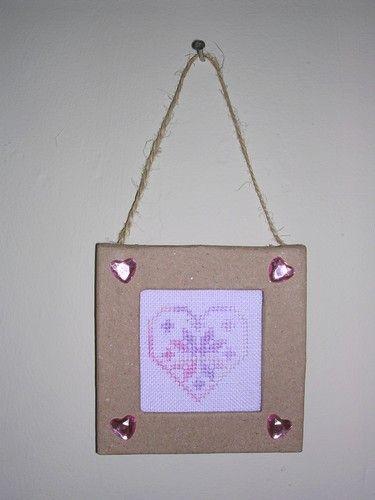 Cadre coeur (pour Charlotte)