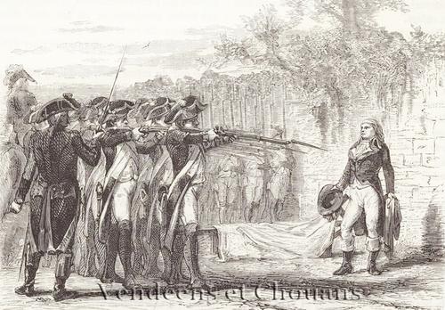 Execution de Charette 1796