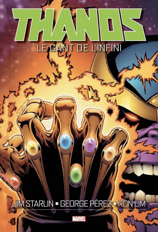 graphic novel thanos le gant de l'infini