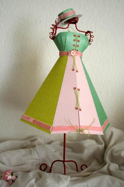 robe en papier 3
