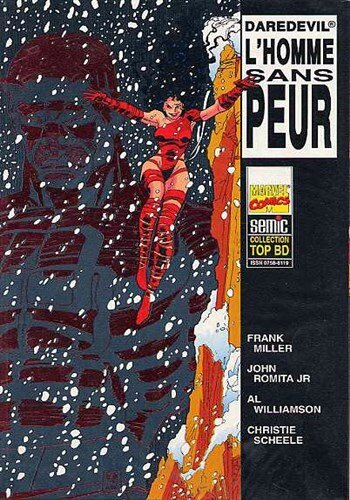 semic top BD 35 daredevil l'homme sans peur 1