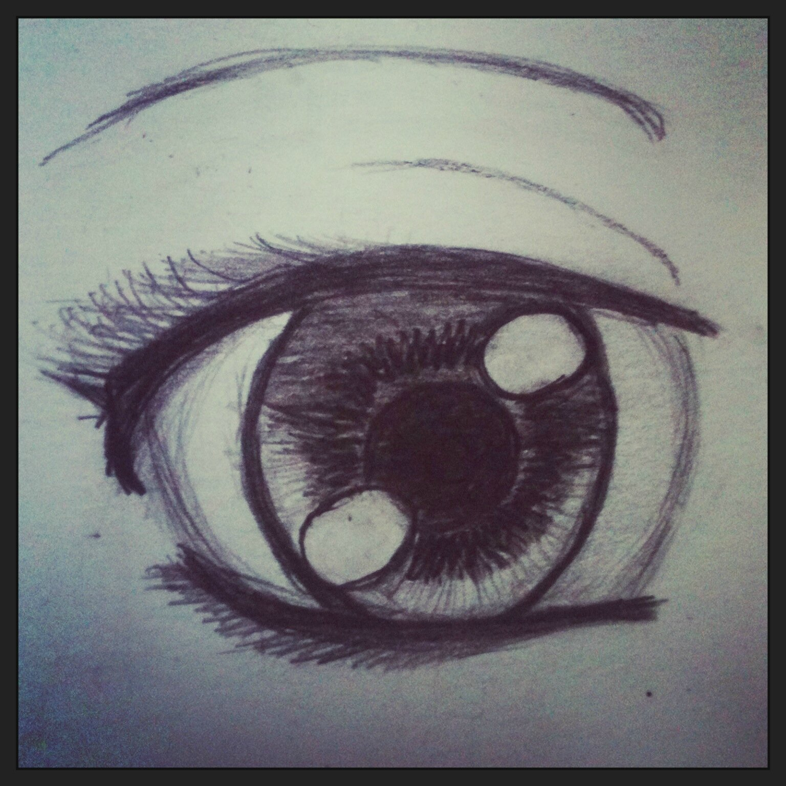 Dessin les yeux catdrawing - Dessin difficile a faire ...
