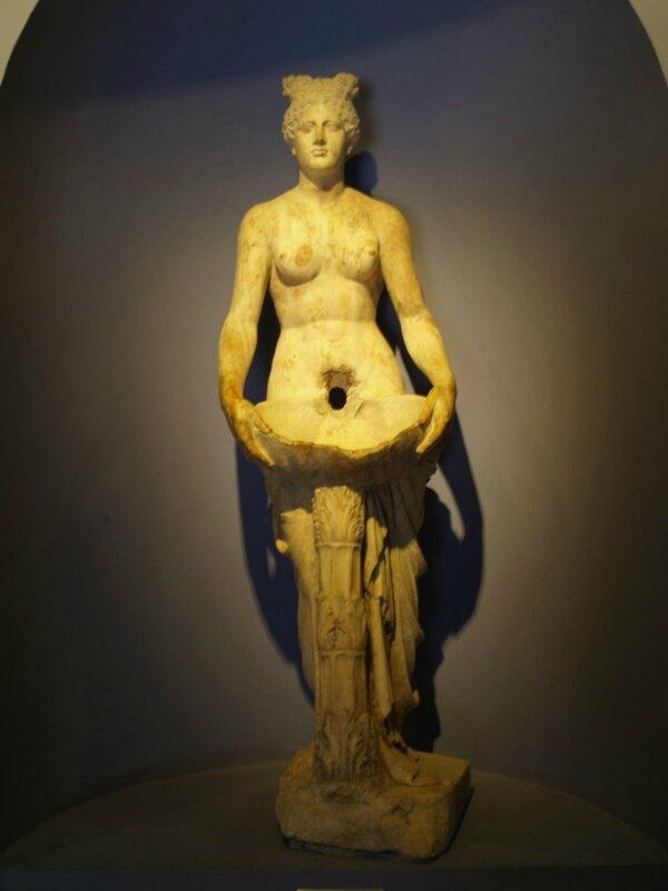 7 Nymphe musée de Pergame