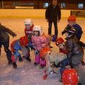 Les maternelles à la patinoire