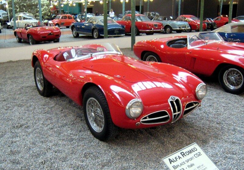 Alfa romeo type C52 biplace sport de 1953 (Cité de l'Automobile Collection Schlumpf à Mulhouse) 01