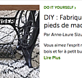 DIY table machine a coudre