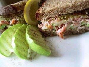 sandwichsaumonpomme