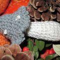 Champignon gris et blanc