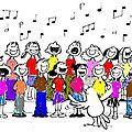 24 mai : spectacle de fin d'annee et concert de la chorale