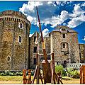Juin 1375, le seigneur de parthenay guillaume larchevêque ordonne de bruler le château de pierre de montfaucon à saint-mesmin.