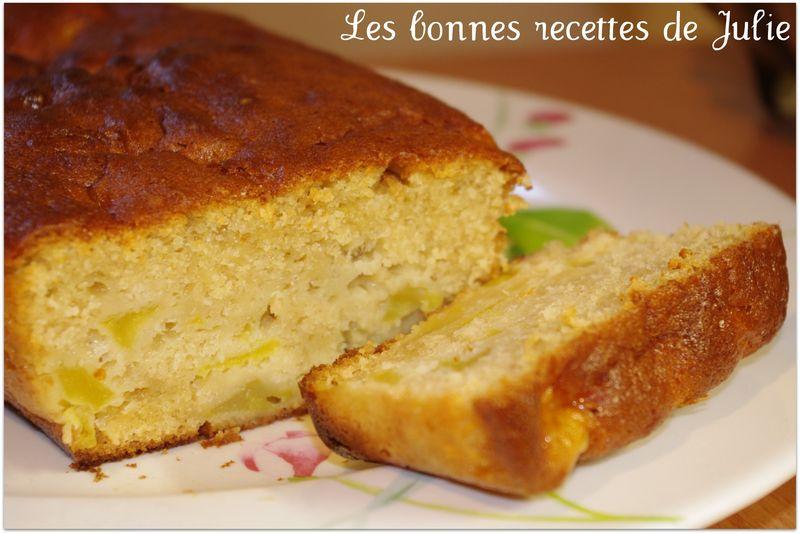 Gateau Au Yaourt Aux Pommes Au Beurre Les Bonnes Recettes De Julie