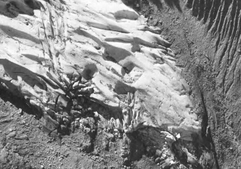 pointe glacier bossons 1960