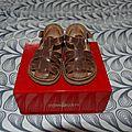 Sandalettes premiers pas pom d'api, 19.