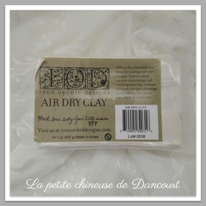 Air dry clay IOD - Copie