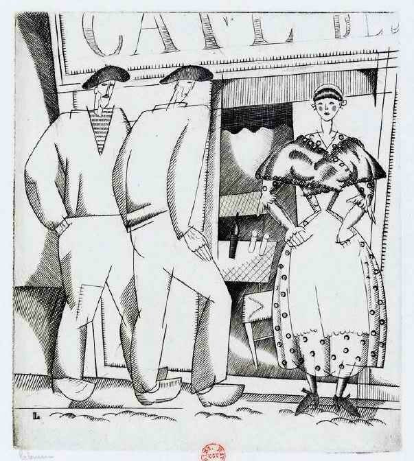 Laboureur cabaret breton