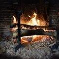 Au coin du feu,