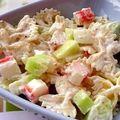 Salade de pâtes au yaourt à ma façon