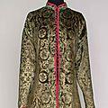 Fortuny stenciled velvet coat, early 20th century