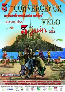 3 Convergence vélo au Mont-Saint-Michel du 3 juin 2012