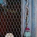 13- Les perruches, détail