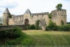 """Résultat de recherche d'images pour """"château médiéval de VILLARS"""""""