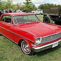 Chevrolet chevy ii nova 400 ss hardtop coupe-1963