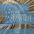 Manifestation de référence, la 19ème édition du salon international du patrimoine culturel se tiendra du 7 au 10 novembre à pari
