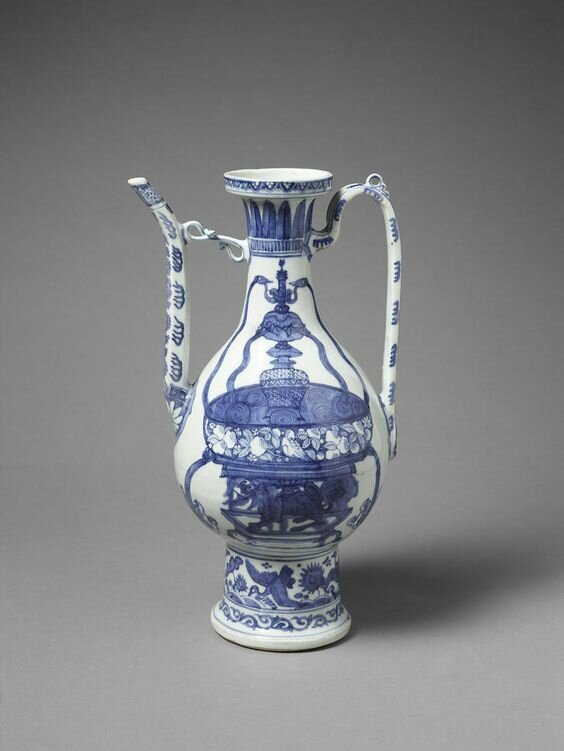 Ewer, China, Ming dynasty (1368–1644), 16th century