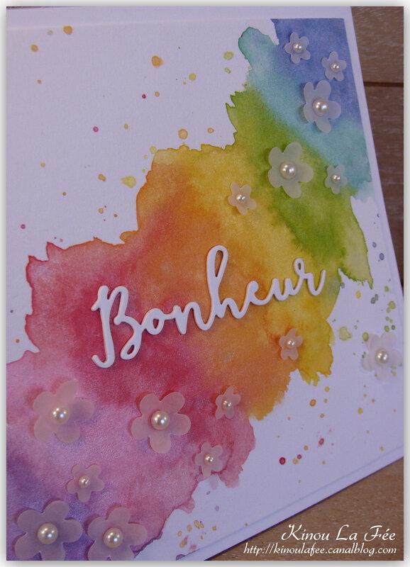 Carte Bonheur Arc en Ciel 2