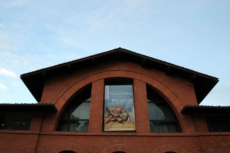 Affiche de l'expo Picasso, horizon mystique