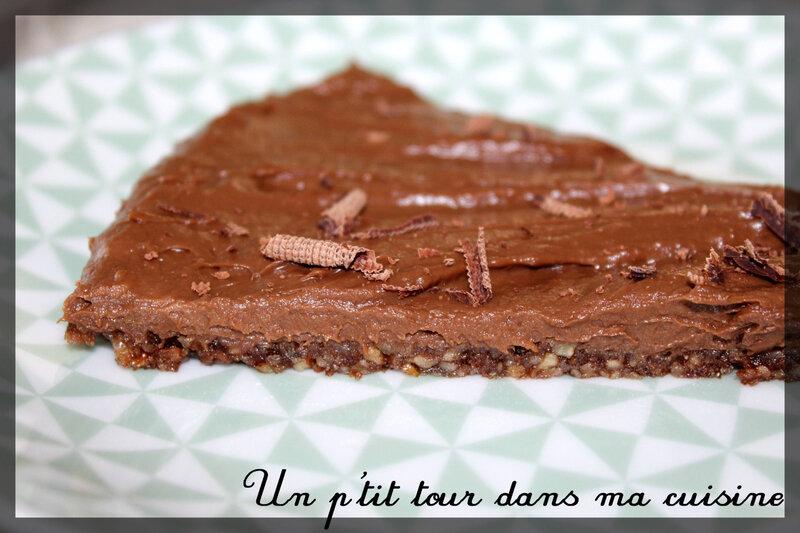 Tarte chocolat sans cuisson1