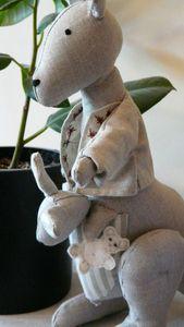 kangourou beige