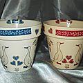 OIES - Ensemble Pots Bleu Rge