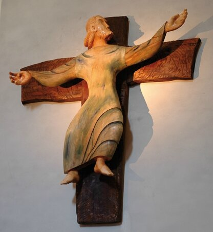 Croix glorieuse, Le Christ de la Chartreuse de Sélignac, Michael Van Beek