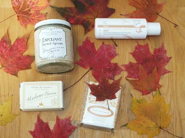 2 Souvenirs Canada Les soins de l'herbier Erable