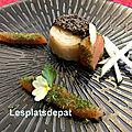 Céleri truffe, truite gravlax